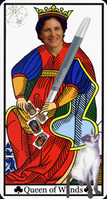 Arnell - Queen of Wands